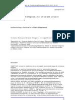 Factores Epidemiologicos Embarazo Ectopico