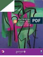 4 Politicas de Igualdad Equidad y Gender Mainstreaming