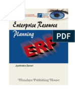 ERP Book authored by Jyotindra Zaveri - Second Edition - Excerpts only