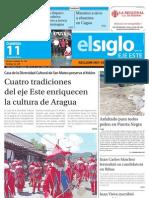 Edicion Eje Este Domingo 11-08-2013