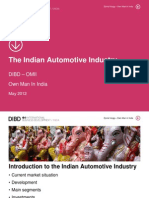 The Indian Automotive Industry 2012