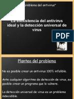 El Problema Del Antivirus