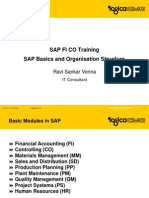 Sap Basics and Organisation Structure
