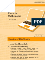 Basic Financial Mathematics