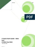 It Quiz Study Guide
