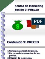Fund MKT Contenido 9 Precio