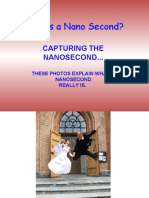 What is a Nano Second? Capturing the Nanosecond... These