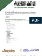 Revenue Assurance