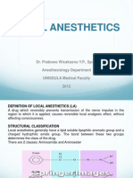 Local Anesthesthetic