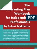 Marketing Plan for Professionals - Workbook