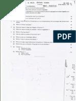 Question Paper 34