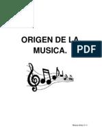Origen de La Musica
