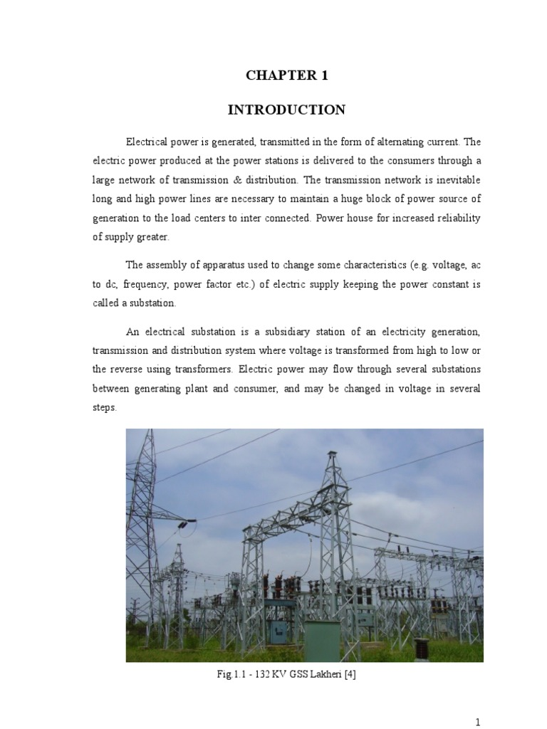 132 Gss Electrical Substation Capacitor Ac Power Load Is Large The Use Of Current Transformer