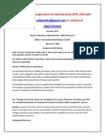IB0011–International Marketing