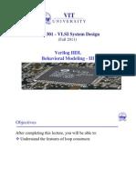 9.ECE 301 - Behavioral Modeling III