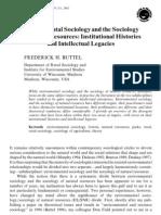 Envi Socio and Socio of Natural Resources