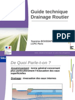 Guide Drainage Routier Setra