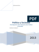 Informe Política y Sociedad