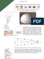 Trapecio diseño de la cúpula