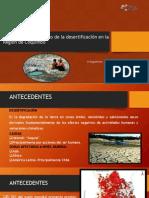 Análisis socioeconómico de la desertificación en la Región