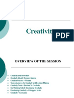 Creativity Presentation1- Revised