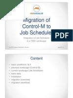 Job Scheduler Control m Migration En