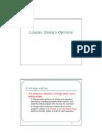 3.4Loader Design Options