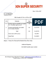 Bill No 06 Date