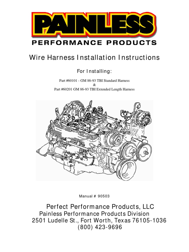 tbi gm fuel injection distributor rh scribd com