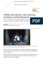 British Male Identity Crisis 'Spurring Machismo and Heartlessness' _ Politics _ the Guardian