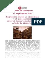Jornada en Barcelona
