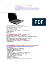 Notebook Acer As5738