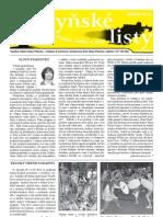 Radyňské Listy, Starý Plzenec, Srpen 2013