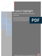 Alcatel-Lucent 5780 Dynamic Services Controller (DSC) Product Highlights
