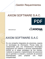 Gestion Requerimientos Axiom Software