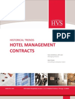 HVS - Historical Trends Hotel Management Contracts