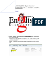 Manual Instalacion English Discoveries