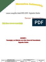 UNI. DIG 2dos Grados Mec. Aut. 2011-2013