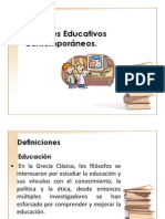 Fundamentos Educativos Contemporaneos