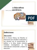 Fundamentos Educativos Contemporaneos
