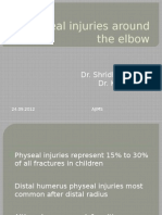 Physeal Injuries Around the Elbow_ With Supracondylar