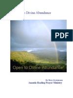 Opening to Divine Abundance, by Mary Kretzmann