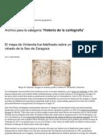 Historia de la cartografía _ Historia y Mapas