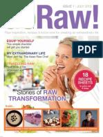 GoRawMagazine Issue001 July 20131