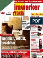Heimwerker Praxis 2012-01