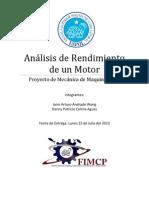 Proyecto I-Análisis de Rendimiento de un Motor