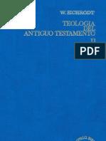 Eichrodt, W., Teología del Antiguo Testamento 02