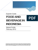 Food and Beverage Market Profile Indonesia 2012
