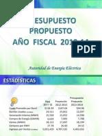 Presupuesto Operacional 2013-14-Version Web