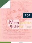 Metropolitan Archivist, Vol. 19 No. 2 (Summer 2013)
